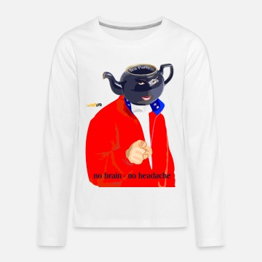 no brain - Kids' Premium Longsleeve Shirt