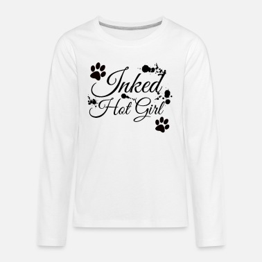 Hot Girl Inked Hot Girl - Kids' Premium Longsleeve Shirt