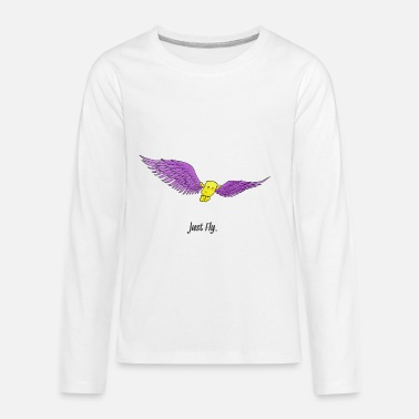 Just Fly Just Fly - Kids' Premium Longsleeve Shirt