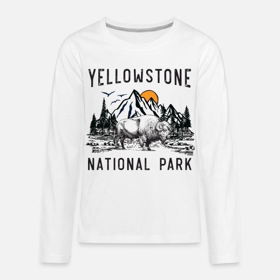 Marsherun Infant Babys Boys Girls Yellowstone National Park Service Long-Sleeve Climbing Bodysuits Playsuit