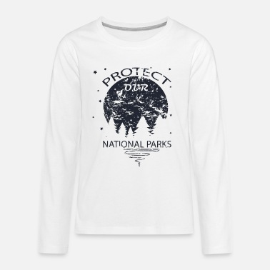 National Park Protect Our National Parks - Kids' Premium Longsleeve Shirt