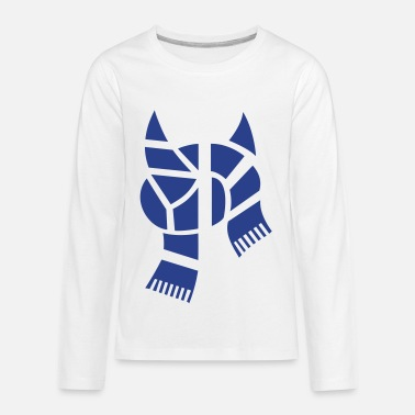 Sweden Hockey Team Finland Suomi Scarf 1c ++ - Kids' Premium Long Sleeve T-Shirt
