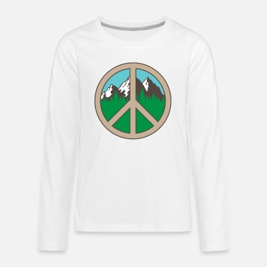 Forest Peace Adventure Mountains Vacation Gift - Kids' Premium Longsleeve Shirt