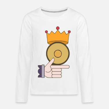 Golden Coin Gold Coin - Kids' Premium Longsleeve Shirt