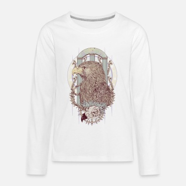Roman Cross Roman Eagles - Kids' Premium Longsleeve Shirt