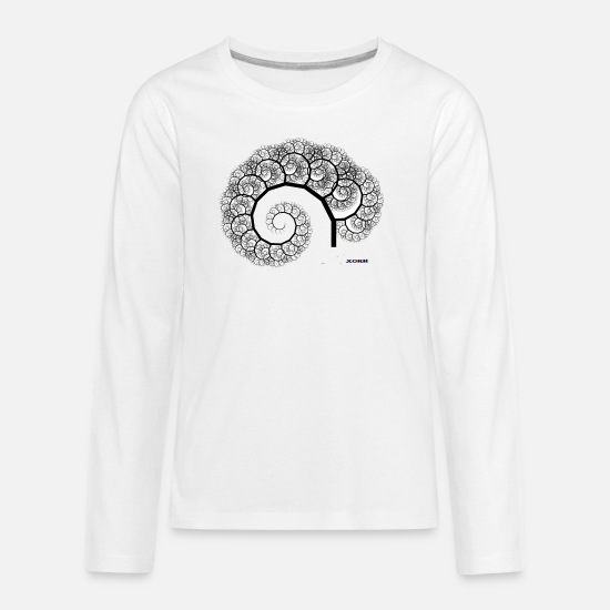 Evolution T-Shirts - EVOLUTION - Kids' Premium Longsleeve Shirt white