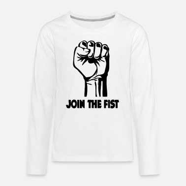 Join Join The Fist - Kids' Premium Longsleeve Shirt