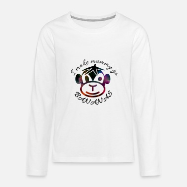 Monkey around - Kids' Premium Longsleeve Shirt