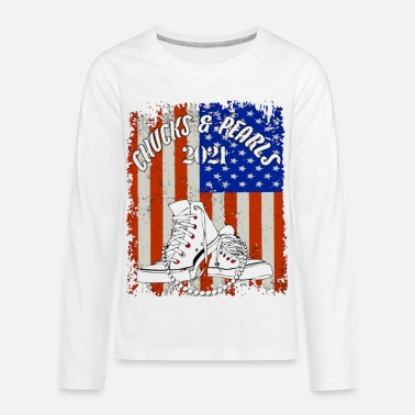 Chucks and Pearls - Kids' Premium Longsleeve Shirt
