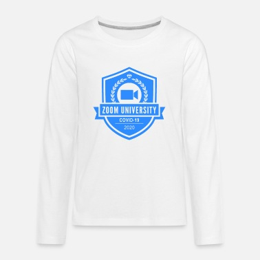 zoom university - Kids' Premium Longsleeve Shirt