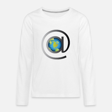 Email email rules the world - Kids' Premium Longsleeve Shirt