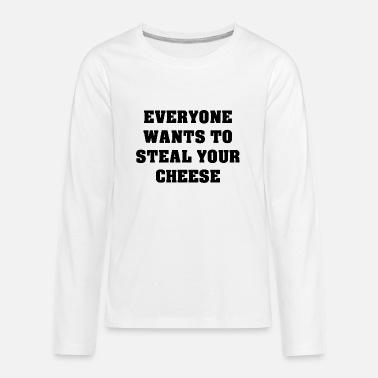 Steal Steal Cheese - Kids' Premium Longsleeve Shirt
