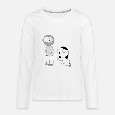 Comics Catana Sad John Will Go - Kids' Premium Longsleeve Shirt