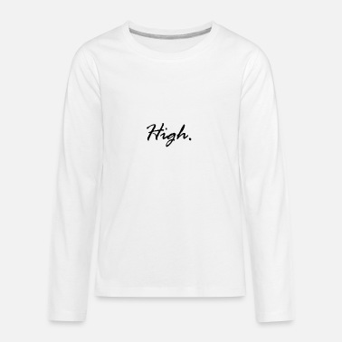 Xanax High LSD Drugs Weed Lean Molly Festival Xanax Gift - Kids' Premium Long Sleeve T-Shirt
