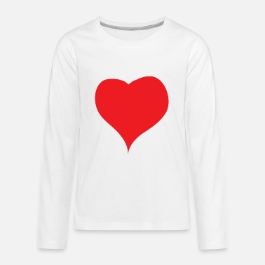 Red Heart Red Heart - Kids' Premium Longsleeve Shirt