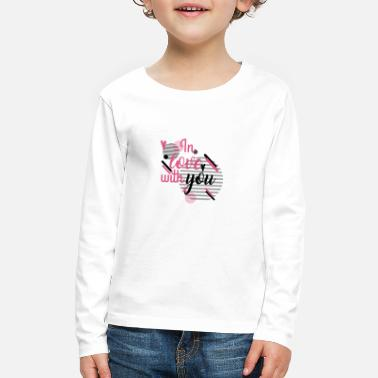Love You in Love With YOu - Kids' Premium Longsleeve Shirt