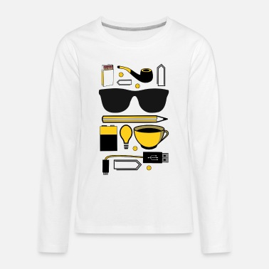 Everyday Office Life everyday life work hustle office cool gift - Kids' Premium Longsleeve Shirt
