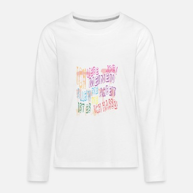 Jobs job job - Kids' Premium Longsleeve Shirt