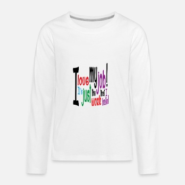 Jobs job - Kids' Premium Longsleeve Shirt