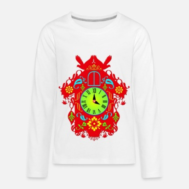 Cuckoo cuckoo clock - Kids' Premium Long Sleeve T-Shirt