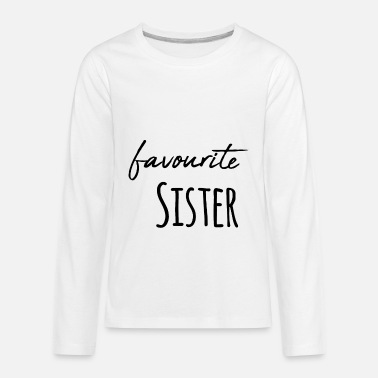 Siblings Favourite Brother Sister Siblings / Gift Idea - Kids' Premium Longsleeve Shirt