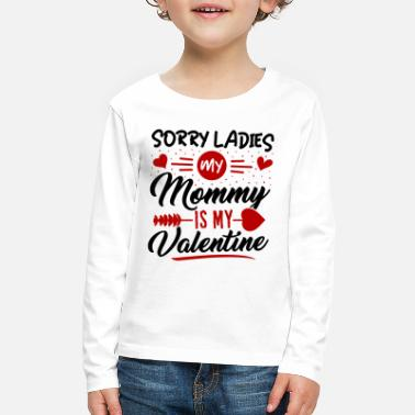 Family Valentines Day Valentines Day Shirt for Teen Boys - Kids' Premium Longsleeve Shirt