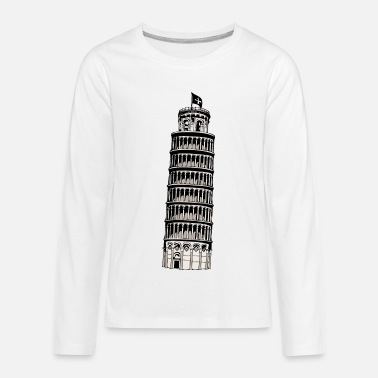 Inclined Tower leaning tower of pisa - Kids' Premium Longsleeve Shirt