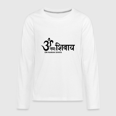 Om Namah Sivaya A - Kids' Premium Long Sleeve T-Shirt