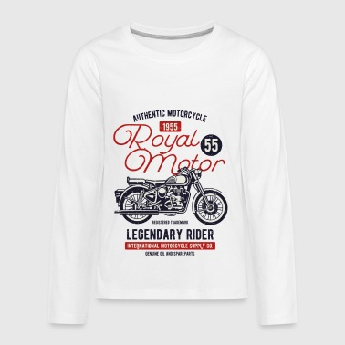 Royal Motor - Kids' Premium Long Sleeve T-Shirt