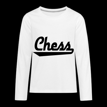 2541614 15450451 chess - Kids' Premium Long Sleeve T-Shirt