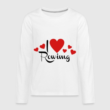 2541614 113587689 rowing - Kids' Premium Long Sleeve T-Shirt