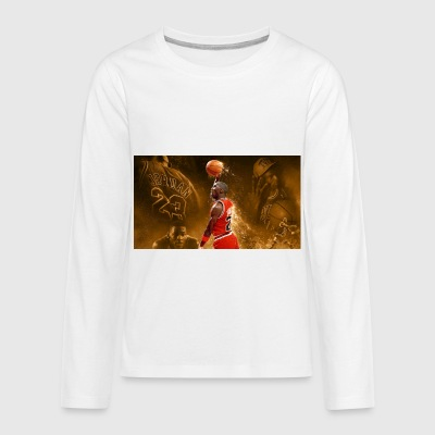 Michael Jordan - Kids' Premium Long Sleeve T-Shirt