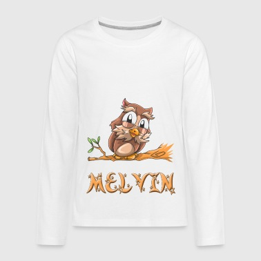 Melvin Owl - Kids' Premium Long Sleeve T-Shirt