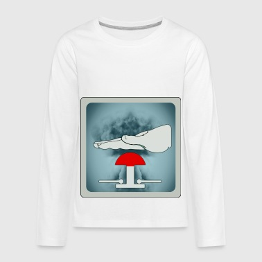 nuclear threat - Kids' Premium Long Sleeve T-Shirt