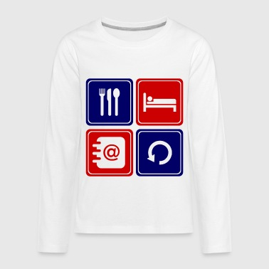 read email 112.png - Kids' Premium Long Sleeve T-Shirt