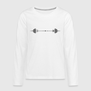 Dividing Lines - Kids' Premium Long Sleeve T-Shirt