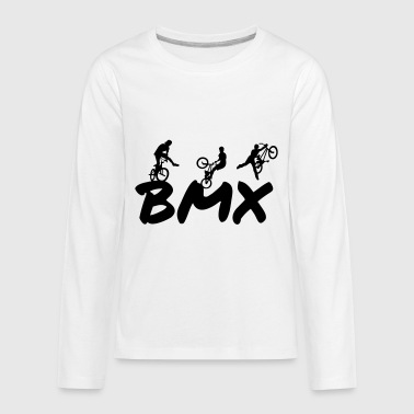 BMX - Kids' Premium Long Sleeve T-Shirt