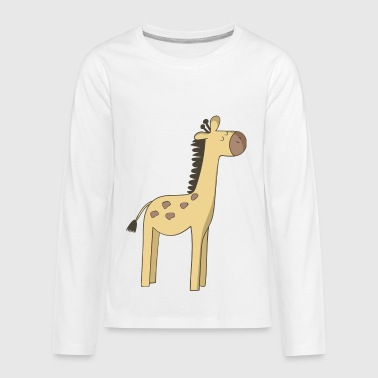 giraffe - Kids' Premium Long Sleeve T-Shirt