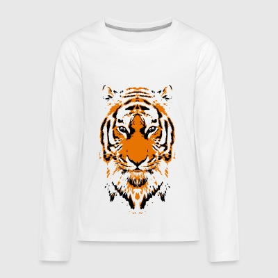Tiger - Kids' Premium Long Sleeve T-Shirt