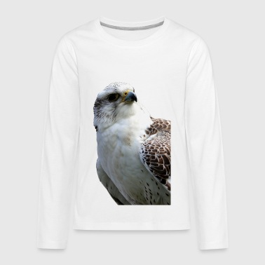 bird of prey eagle adler - Kids' Premium Long Sleeve T-Shirt