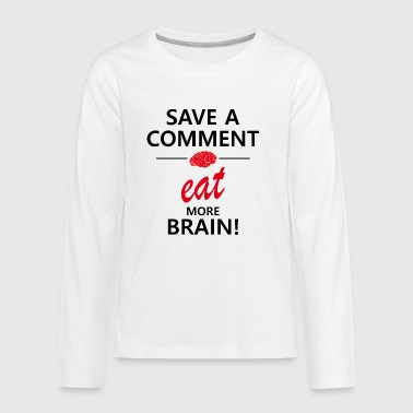 save a comment - Kids' Premium Long Sleeve T-Shirt