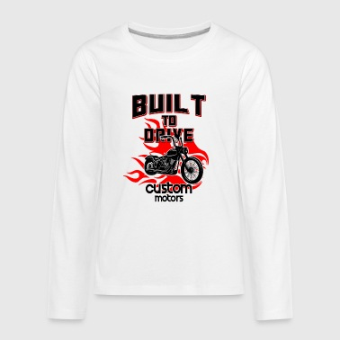 Built to drive - Kids' Premium Long Sleeve T-Shirt