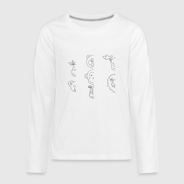 koa3 - Kids' Premium Long Sleeve T-Shirt