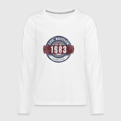 Limited Edition 1983 - Kids' Premium Long Sleeve T-Shirt
