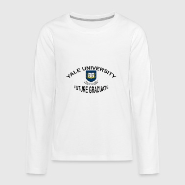 Yale University Future Graduate - Kids' Premium Long Sleeve T-Shirt