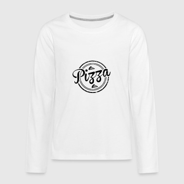 Vintage Pizza - Kids' Premium Long Sleeve T-Shirt