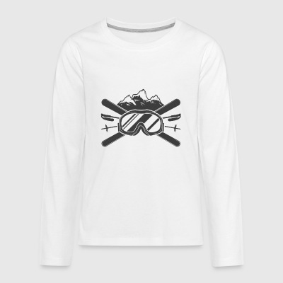 SKIER FOR LIFE - Kids' Premium Long Sleeve T-Shirt