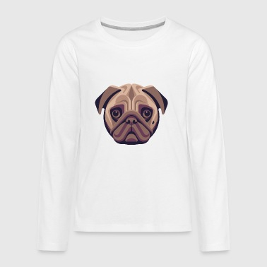PUG - Kids' Premium Long Sleeve T-Shirt
