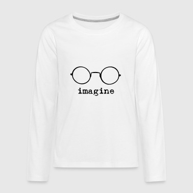 Imagine - Kids' Premium Long Sleeve T-Shirt