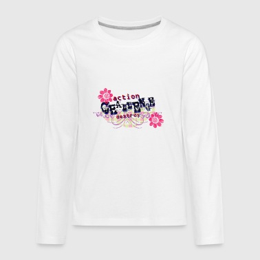 ACTION DESTROY - Kids' Premium Long Sleeve T-Shirt